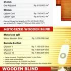 WOODEN BLIND 2