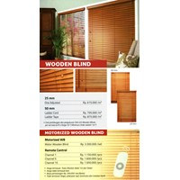 Curtain WOODEN BLIND SHINICHI