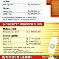 Jual WOODEN BLIND 2