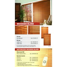 Curtain WOODEN BLIND
