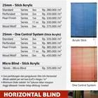 HORIZONTAL BLIND SHINICHI 2