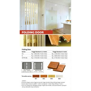 FOLDING DOOR PVC SHINICHI