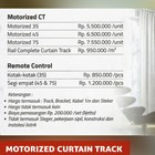 MOTORIZED CURTAIN TRACK 2