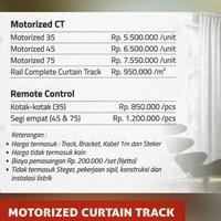 Jual MOTORIZED CURTAIN TRACK 2