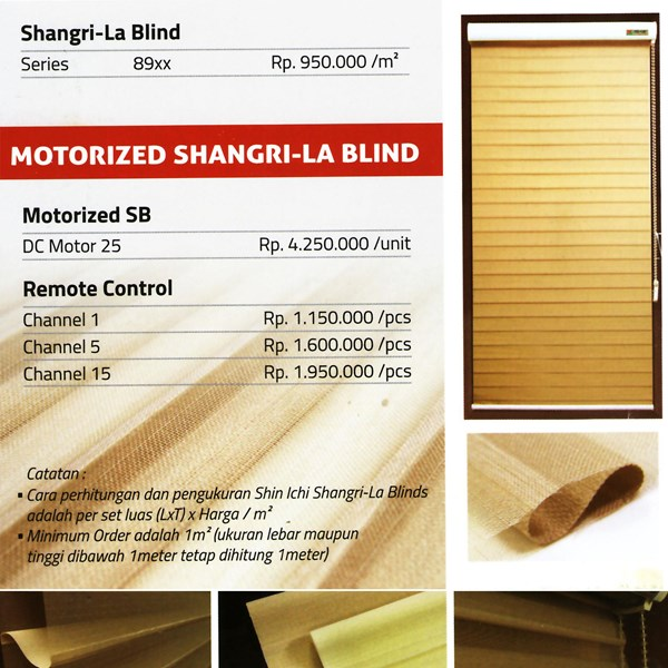 SHANGRI-LA BLINDS SHINICHI