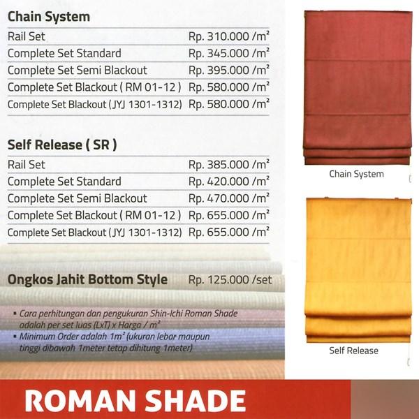 ROMAN SHADE BLIND
