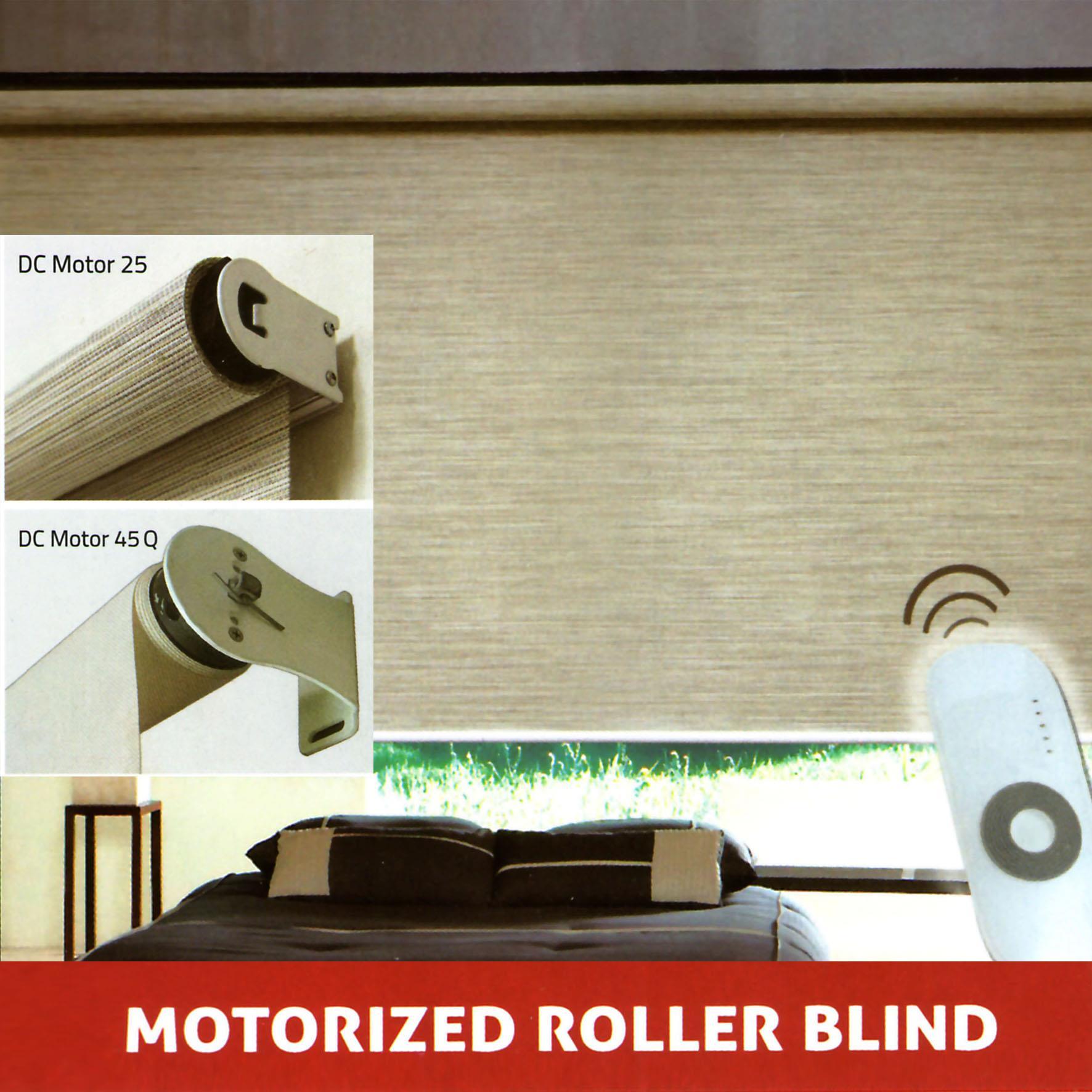 Jual Electric Roller Blind Harga Murah Jakarta Oleh
