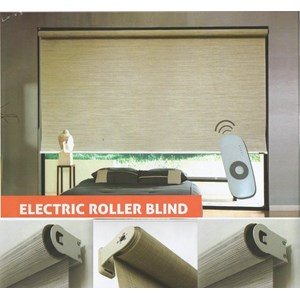 Sell electric roller blinds from indonesia by shinichi for Cost of motorized blinds
