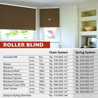 Jual ROLLER BLINDS