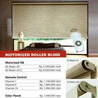 MOTORIZED ROLLER BLIND 1