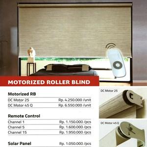 MOTORIZED ROLLER BLIND