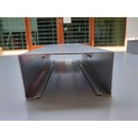 Dari Kusen Pintu Aluminium 3  inch Openback Skrup 6 Meter 1