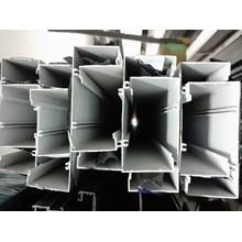 Kusen Pintu Aluminium 3  inch Openback Skrup 6 Meter