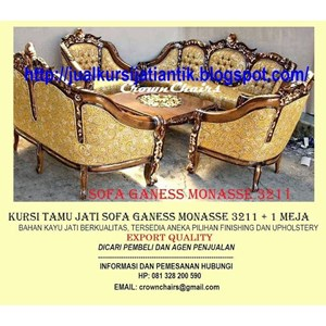 Export Sofa Ganess Monasse Indonesia
