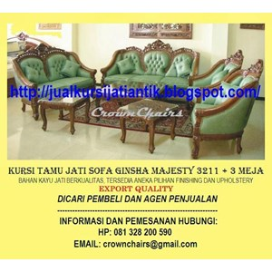 Export Sofa Ginsha Majesty Indonesia