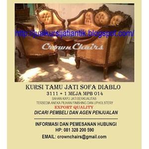 Export Sofa Diablo Mpb14 Indonesia