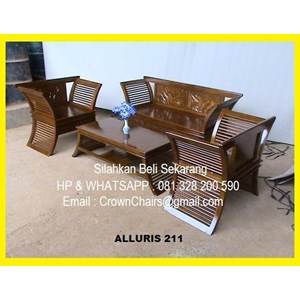 Export Jati Alluris 211 Guest Chairs Indonesia