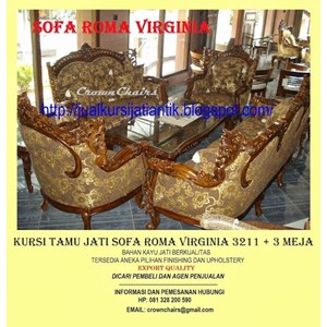 Export Sofa Roma Virginia Indonesia