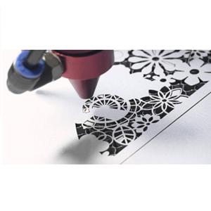 Laser Cutter Makes Paper Wedding By Trasmeca Laser Cuting