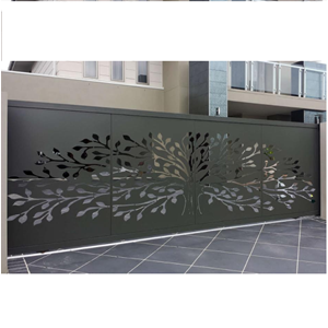 Laser Cut Panels Gate By CV. Trasmeca Laser Cuting