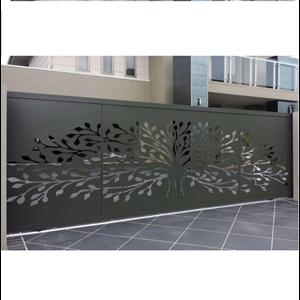 Laser Cut Panels Gate By Trasmeca Laser Cuting