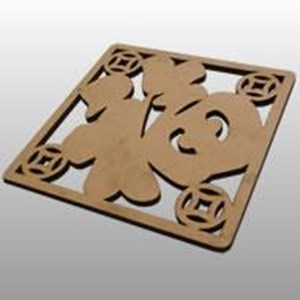 Laser Cutting Wood Type 9 By CV. Trasmeca Laser Cuting