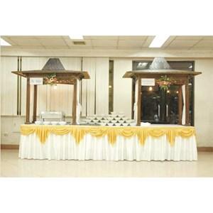 jual dekorasi meja prasmanan harga murah jakarta oleh
