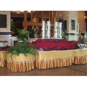 Dekorasi Meja Prasmanan Pesta