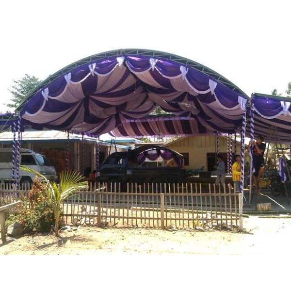 Plafon Dekorasi Tenda