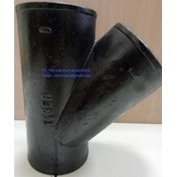 Jual CAST IRON FITTING Y BRANCH TIGER 2