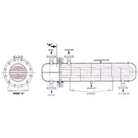 Pemanas Industri Type Shell Tube 1