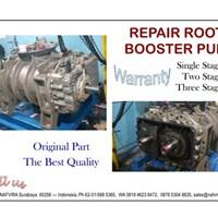 Jasa Perbaikan Roots Pump By NAFVIRA