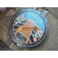 Manhole Baja Untuk Pendestrian