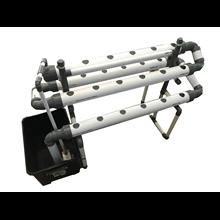 Paket modul instalasi hidroponik DFT set lengkap