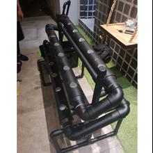 Paket Komplit Instalasi Hidroponik Black Dengan Bak