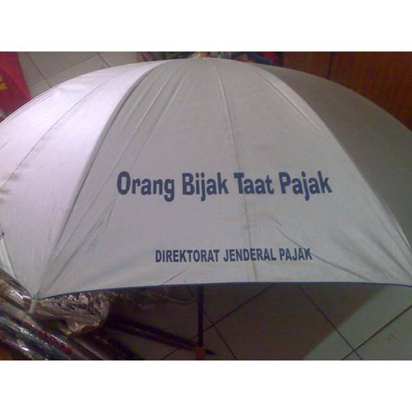 Silver Golf Umbrella