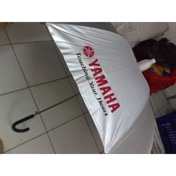 promotional umbrella logo yamaha