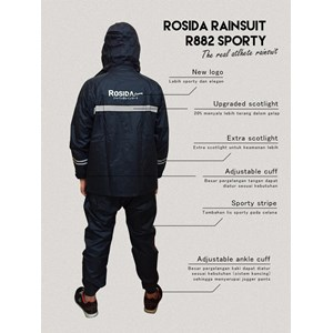 ROSIDA 882 SPORTY Raincoat