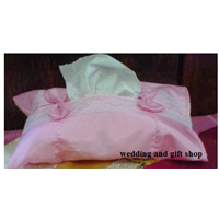 Tempat Tissue Renda (Pinki) 1