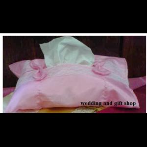 Tempat Tissue Renda (Pinki)