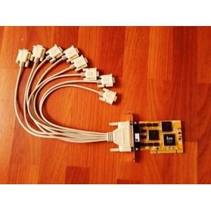 Pci Card Dan Gurita 8 Port Rs-232 (Serial) Merk Ite & Jara