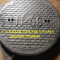 Jual MANHOLE COVER CAST IRON FC 250 2