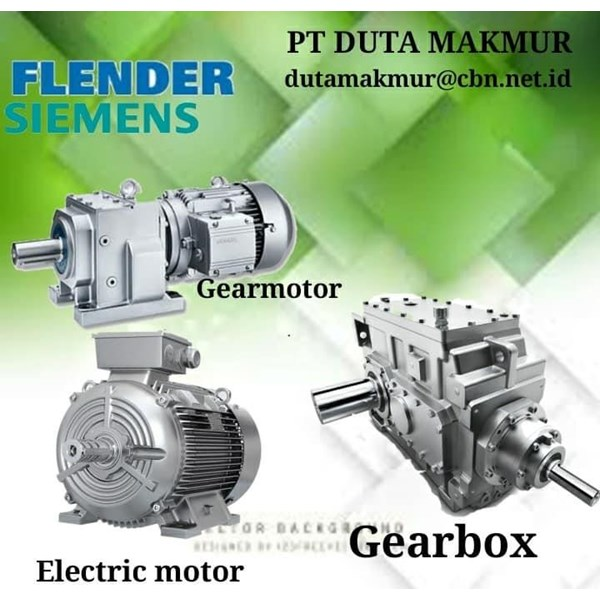 FLENDER SIEMENS GEARMOTOR REDUCER GEARBOX PT ALVA GLODOK FLENDER