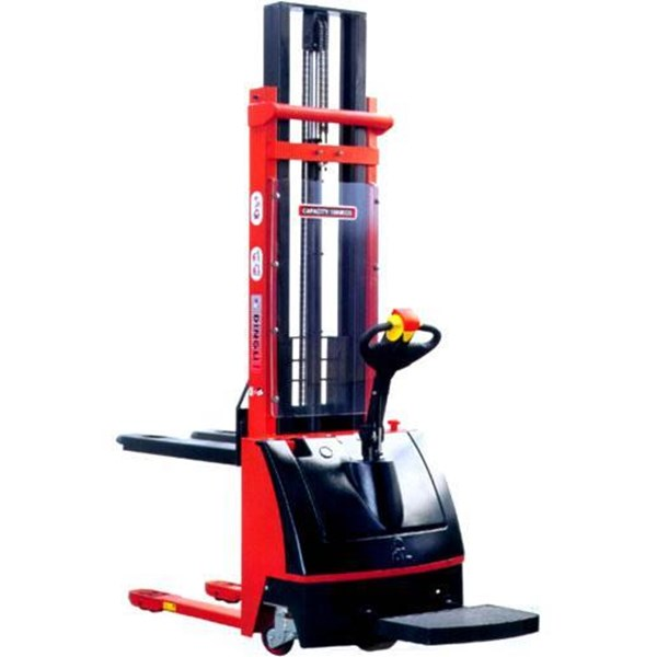 Electric Lift Stacker Otomatis