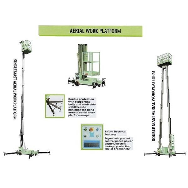 Aerial Aluminium  Work Platform  Jakarta.