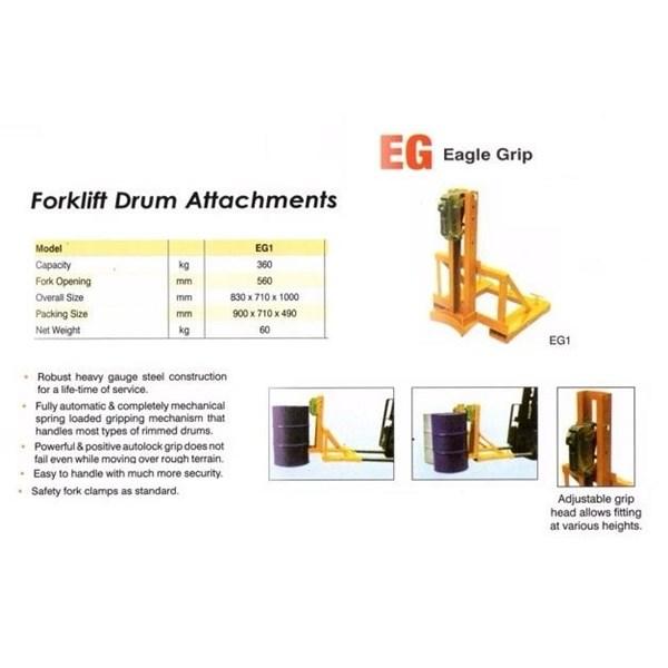 Drum Gripper For Forklift