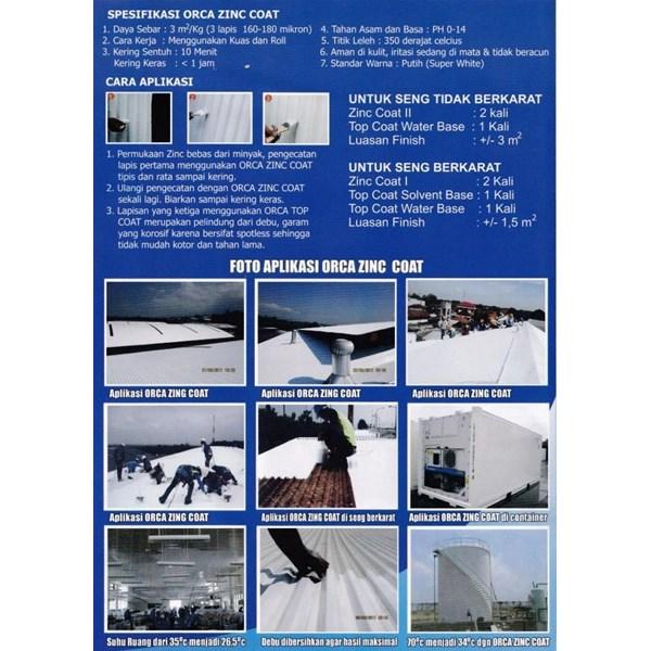 Turbine Ventilator Insulasi atap Roof Coating ORCA