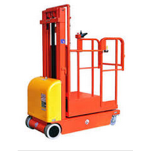 Electric Aerial Order Picker & Scissor Lift.