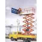 Scissor Lift Aerial Working Platform. 3