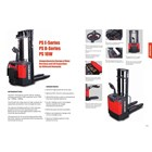Forklift Electric Stacker Pallet 4